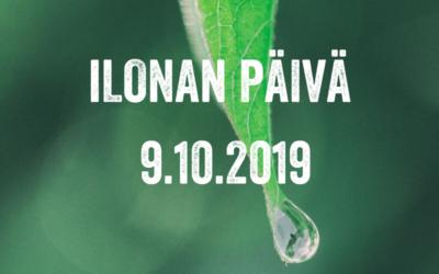 Valtakunnallinen mielenterveysomaisten päivä – Ilonan päivä 2019