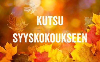 Varsinais-Suomen Mielenterveysomaiset – FinFami ry:n sääntömääräinen syyskokous